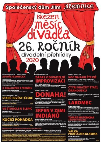 V Jilemnici chystají 26. ročník přehlídky Březen - měsíc divadla