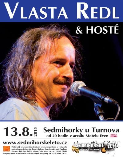 Vlasta Redl uzavře hudební část Sedmihorského léta 2015