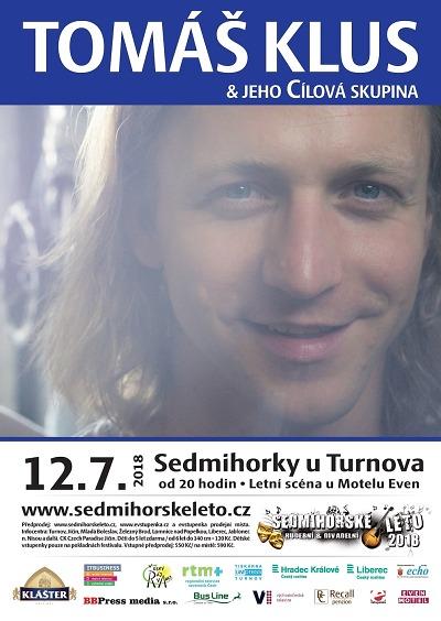 Tomáš Klus a jeho Cílová skupina se představí na Sedmihorském létě