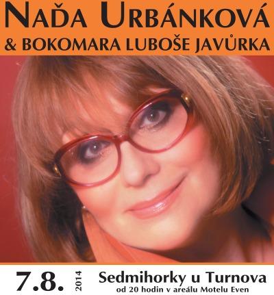 Čtyři výherci se mohou těšit na koncert Nadi Urbánkové