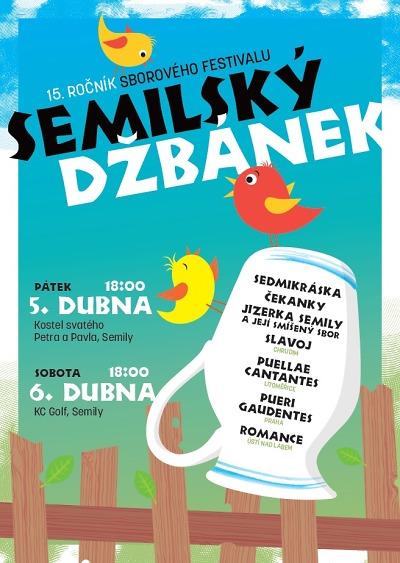 Pěvecké sbory se sejdou na 15. ročníku festivalu Semilský džbánek