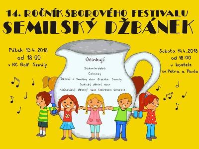 Sbory zazpívají v rámci 14. ročníku festivalu Semilský džbánek