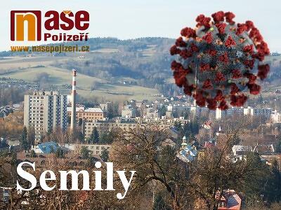Případů koronaviru je v Libereckém kraji 170, přibyl jeden v Semilech