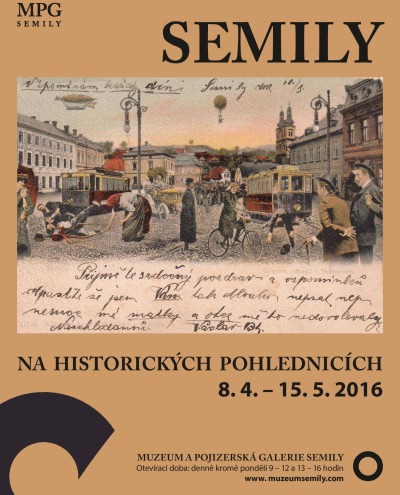 Historii Semil ukazují na starých pohlednicích