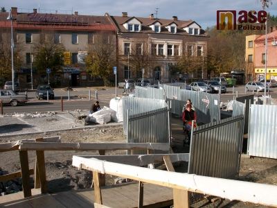 Fotovideo: Jak se změnilo semilské náměstí v průběhu čtyř let