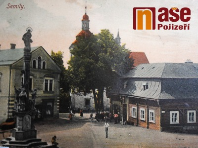 FOTO: Historii Semil ukazují na starých pohlednicích