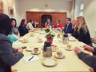Setkání zástupců partnerských měst Turnova proběhlo v Niesky