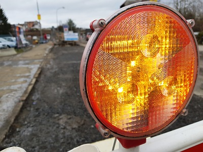 Rekonstrukce silnice II/610 v Turnově se přerušuje do konce března
