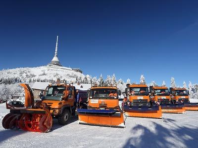 Silničáři v Libereckém kraji jsou na zimu připravení