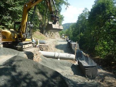 Liberecký kraj znovu reklamuje rekonstrukci silnice v Hájích nad Jizerou