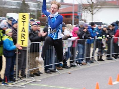 FOTO: Vítězem Silvestrovského běhu v Turnově je podruhé Michal Hanyk
