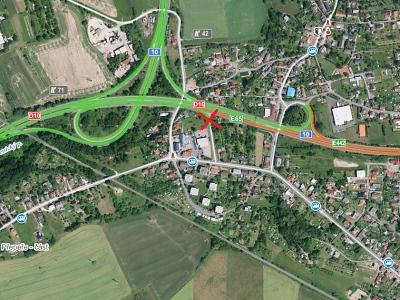 Sjezd do Ohrazenic ve směru od Prahy se na dva měsíce uzavře