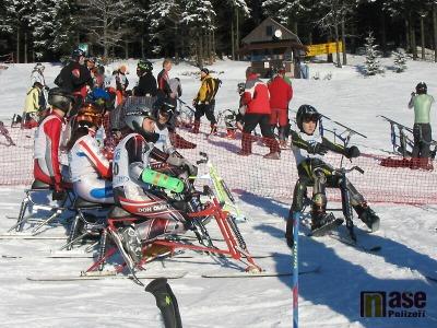 Skibobisté z Jablonce nad Jizerou získali v Deštném čtyři medaile