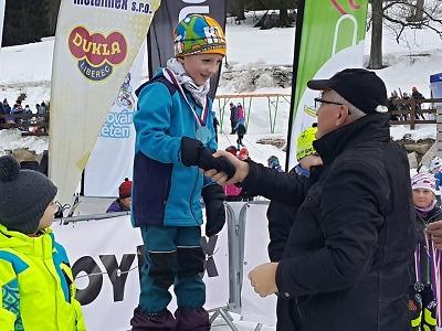 Pohár žactva krajského svazu lyžařů 2019 zakončili skicrossem