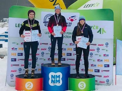 Na šampionátu v běhu na lyžích získali jilemničtí zástupci 11 medailí