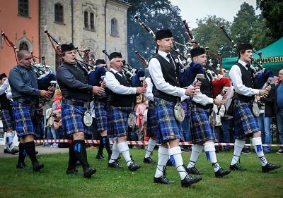 Tradiční Skotské hry se uskuteční již posedmnácté na Sychrově