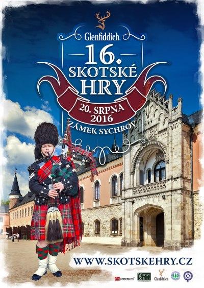 Zámek Sychrov se stane dějištěm už 16. ročníku Skotských her
