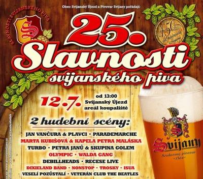 Svijanské slavnosti letos kromě piva lákají i na Olympic a Martu Kubišovou