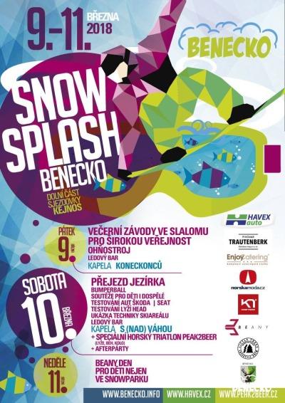 Na vleku v Benecku přivítají opět jaro akcí Snowsplash