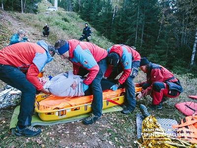 Záchranářská tréninková akce Search and Rescue zavítala do Krkonoš