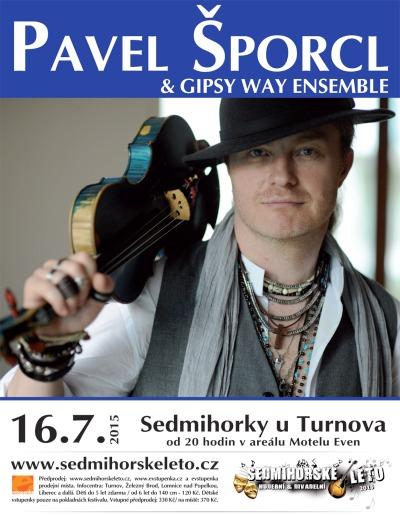 Sedmihorské léto se těší na Pavla Šporcla & Gipsy Way Ensemble