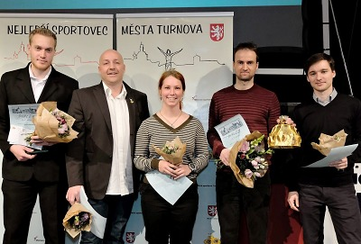 Sportovcem Turnova za rok 2018 vyhlášen Jakub Oma