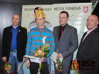 FOTO: Sportovcem Turnova za rok 2014 se stal Jakub Oma