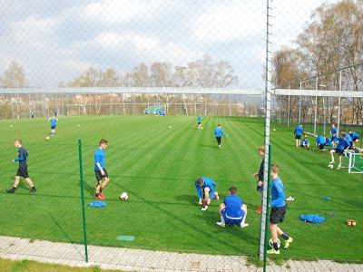 Sport Park Liberec se rozšiřuje o nové tréninkové hřiště