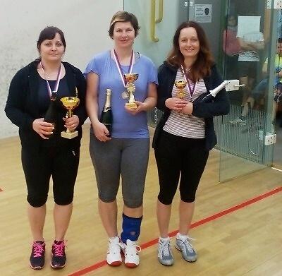 V semilské hale pořádali už čtvrtý squashový turnaj