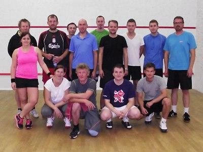 Druhý letošní semilský turnaj ve squashi vyhrál Tomáš Vojtěch