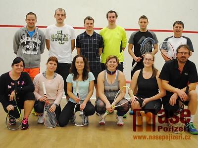 Druhý turnaj Semilské squashové tour vyhrál znovu Tomáš Trávníček