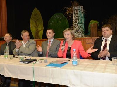 Krajští starostové diskutovali v Bozkově s náměstkyní ministra vnitra