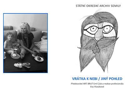 Výtvarnice Eva Vlasáková umělecky reaguje na Emila Zuba