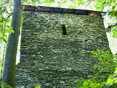 Liberecký kraj neznámý: Z hradu Štěpanice zůstaly zbytky paláce a věže
