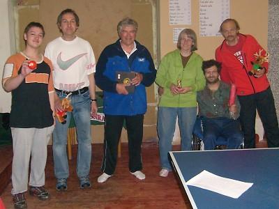 Stolní tenisté si opět zahráli na turnaji v Benešově