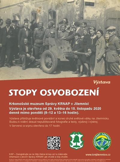 Stopy osvobození na Jilemnicku ukáže výstava Krkonošského muzea