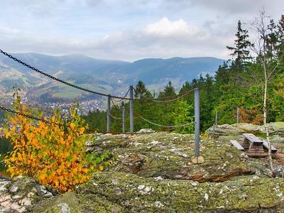 Krkonošský vrch Strážník kdysi hlídal bezpečí kraje