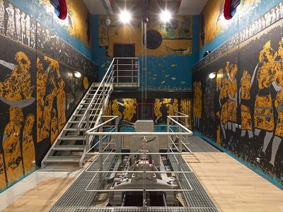 Slavnostně ukážou dílo Svět vody v nové vodní elektrárně v Přepeřích