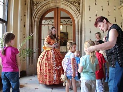 Na hradech a zámcích se v červenci zaměří na nejmenší návštěvníky