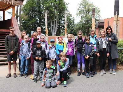 Tábor nejen pro neslyšící děti měl letos název Dobrodružství s přírodou
