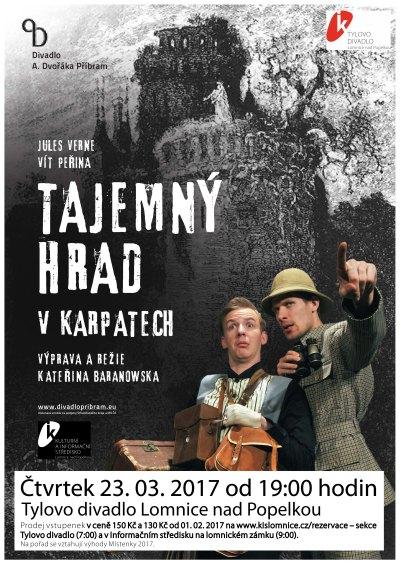 Tajemný hrad v Karpatech najdete i v lomnickém Tylově divadle