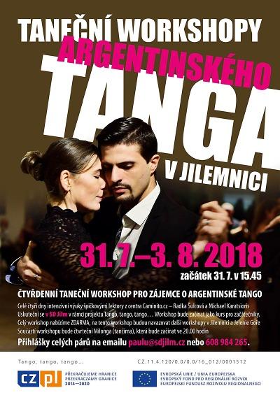 Argentinské tango budou vyučovat v Jilemnici