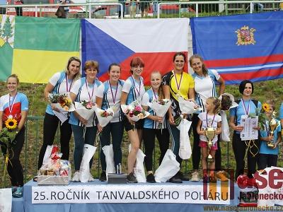 Hasičky Košťálova a hasiči Tatobit vítězní na tanvaldském poháru