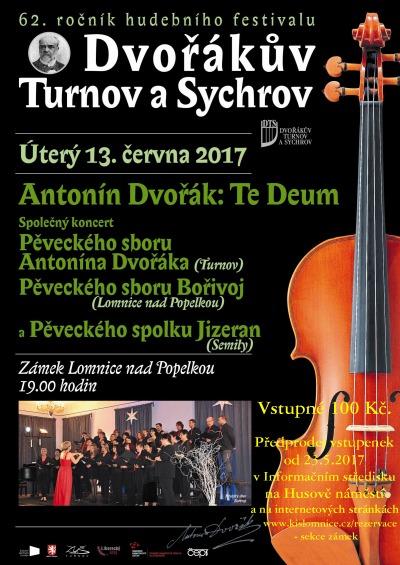 Festival Dvořákův Turnov a Sychrov pokračuje na lomnickém zámku