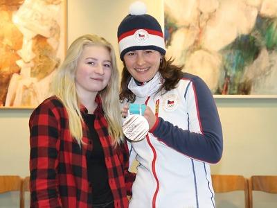 Veronika Vítková: Stát na stupních vítězů je sen každého sportovce