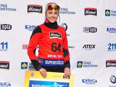 Biatlonistka Tereza Voborníková: V podstatě se jen učím, trénuju a spím