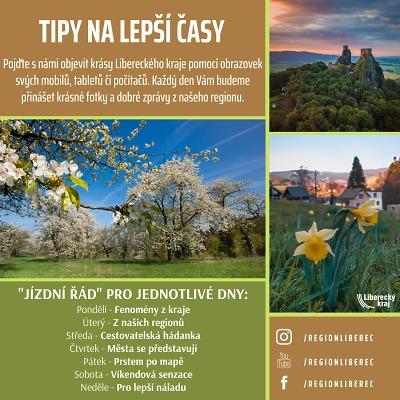 Tipy pro lepší časy. Kampaň Libereckého kraje představí krásy regionu