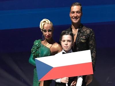 Taneční pár Marek Bureš s Anastasií Iermolenko šestnáctý na MS