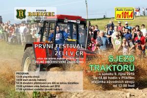 Sjezd traktorů v Příkrém obohatí festival zelí