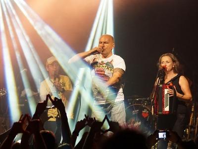 FOTO: V Bozkově tradičně na podzim zahrála kapela Tři sestry